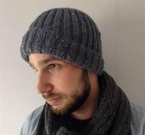 Modele Tricot Bonnet Laine Homme