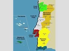 The regions of Portugal
