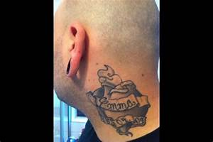 Finger Tattoo Herz : prollprophet halstattoo links herz mit name und geburtsdatum meiner tochter tattoos von ~ Frokenaadalensverden.com Haus und Dekorationen
