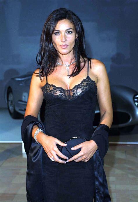 monica bellucci black dress monica bellucci