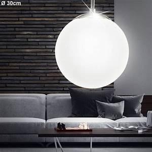 Decken Led Lampen : led h nge leuchten pendel kugel decken lampen glas wohnraum strahler beleuchtung ebay ~ Whattoseeinmadrid.com Haus und Dekorationen