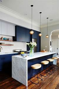1001 variantes de la cuisine equipee moderne With kitchen colors with white cabinets with meuble rangement papier administratif