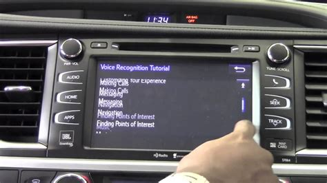 Brookdale Toyota by 2014 Toyota Highlander Voice Recognition Tutorial