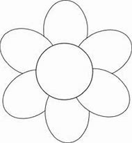 Printable Flower Outline Template
