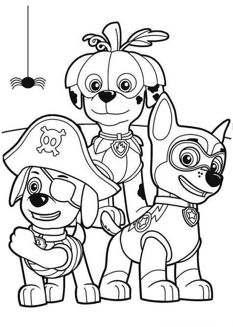 Pin by 333LoRie on Halloween Print Outs Paw patrol