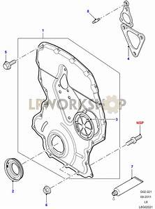 Timing Gear Cover - 2 2 Tdci
