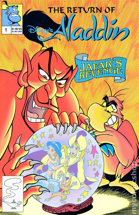 return  disneys aladdin  comic books