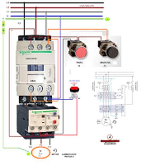 esquemas el 233 ctricos como conectar un contactor rele termico con pulsad esquemas el 233 ctricos