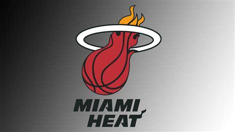 Cool Miami Heat Wallpapers Miami Heat Logo Wallpaper Wallpapersafari