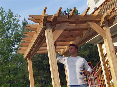 Build A Garden by How To Build A Garden Pergola How Tos Diy