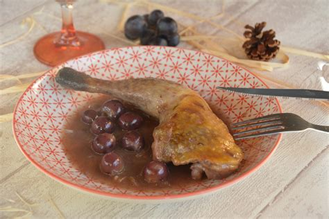 cuisiner des cuisses de pintade cuisses de pintade au miel et aux petits raisins au fil