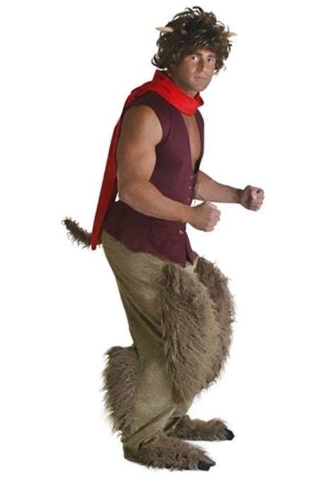 adult satyr mythical costume greek  roman costumes