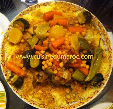 cuisine maroc couscous recettes de couscous marocain