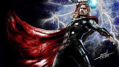 Thor Hammer 4k Wallpapers Digital Backgrounds Superheroes