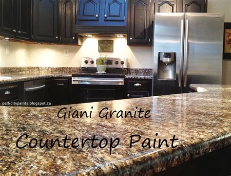 can you paint countertops with regular paint park city paints granite countertop paint