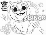 Coloring Bingo Disney sketch template