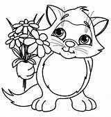 Coloring Pages Flower Spring sketch template