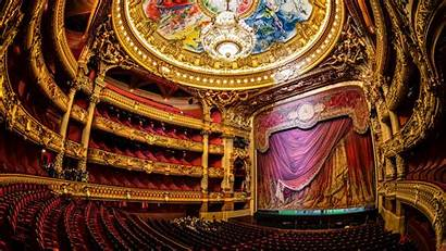 Opera Stage Paris Theater French Hall France