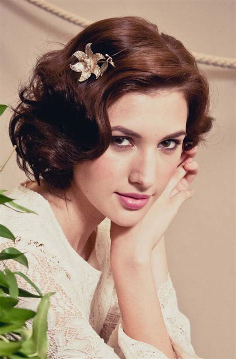 stunning retro wedding hairstyles  classic wedding
