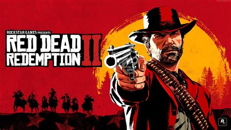 red dead redemption  game poster  hd  wallpaper