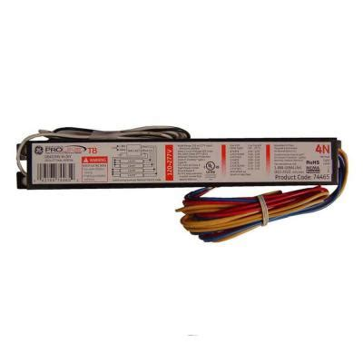 ge 120 to 277 volt electronic ballast for 4 ft 4 l t8