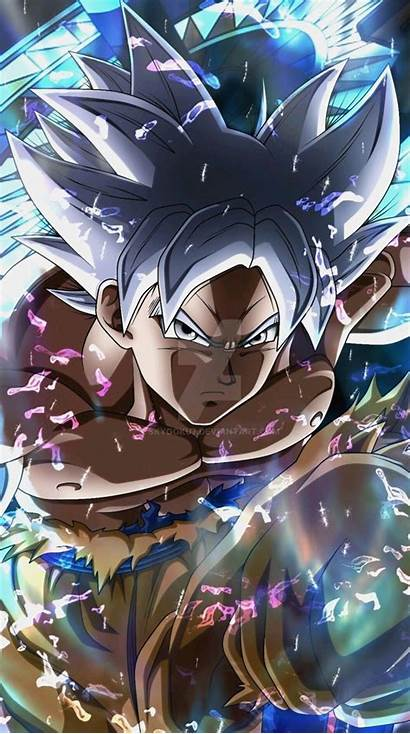 Goku Instinct Ultra Dragon Anime Moving Elegant