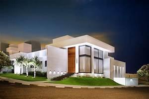 Fachadas de Casas Modernas: porcelanato na fachada eh!DÉCOR