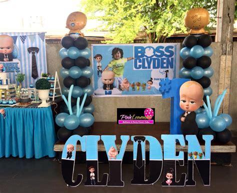 pink lemonade balloons  party favors cebu boss baby
