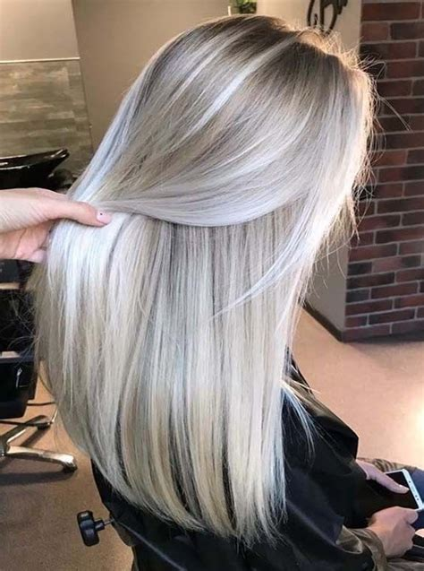 Is Platinum A Hair Color by Hair With Platinum Pearl Blond Hair Colors