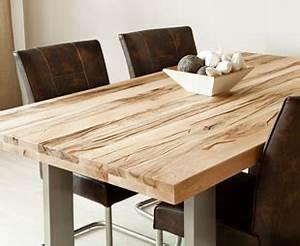 Esstisch Ausziehbar Metallgestell : esstisch massivholz top reduziert bis 70 westwing ~ Markanthonyermac.com Haus und Dekorationen