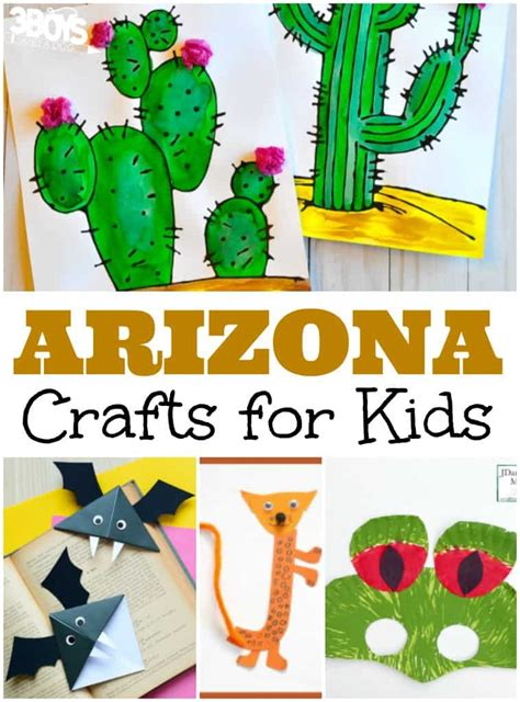 arizona crafts for 3 boys and a 3 boys and a 191 | Arizona Crafts for Kids