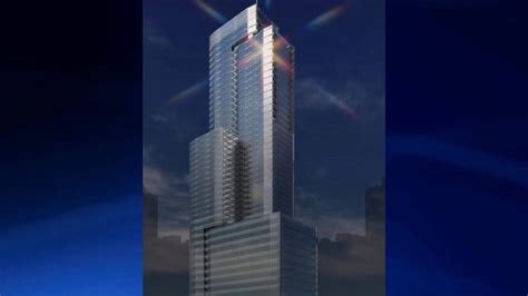 atlanta construction plans  story tower proposed