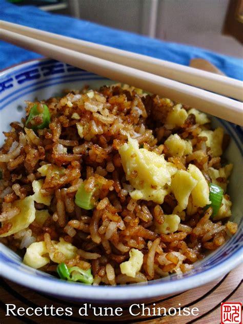 cuisiner reste de riz recettes d 39 une chinoise que faire avec un reste de riz