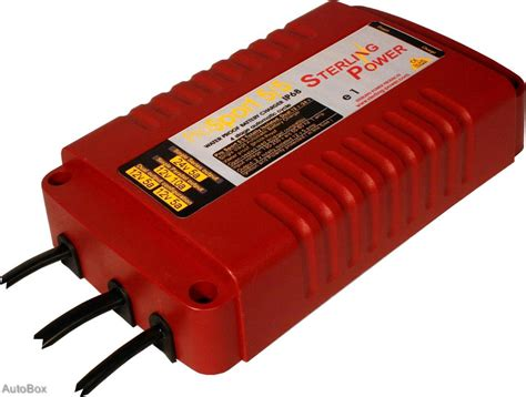 Marine Battery Charger 24 Volt by Salt Waterproof Battery Charger Sterling Pro Sport 5 5