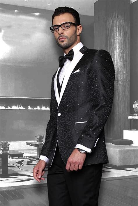 fashionable wedding suit  unique design