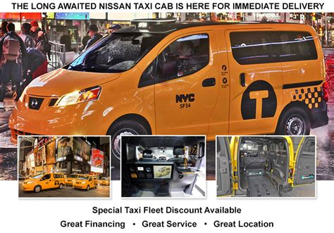 Great Neck Nissan Service by Buy Nissan Taxis Now I Recently Approved By The State Of