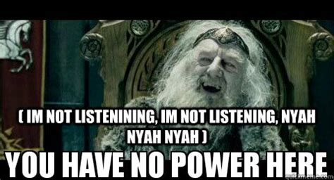 Not Listening Meme - im not listenining im not listening nyah nyah nyah religious people coming here to