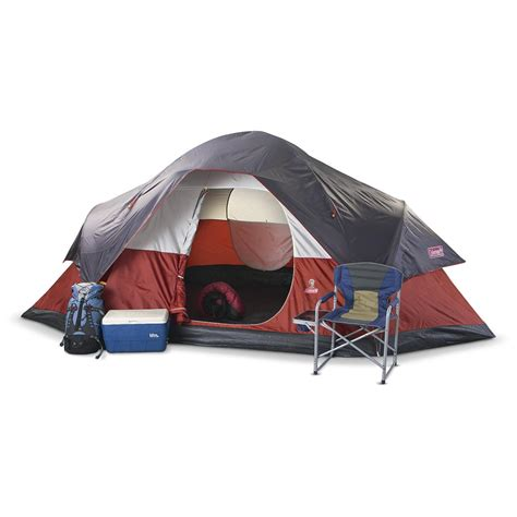 coleman cabin tent coleman 174 cabin tent 134164 backpacking