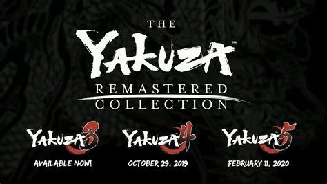 yakuza remastered collection officially announced yakuza