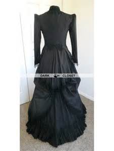 Victorian Dress with Bustle