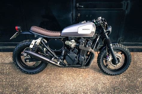 honda cb 750 seven fifty scrambler bobber machines