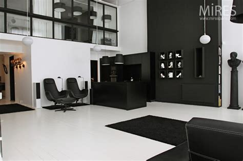 black and white home interior black white statement decor