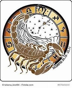 Stier Und Skorpion : astro kreis sternzeichen skorpion sternzeichen ~ A.2002-acura-tl-radio.info Haus und Dekorationen