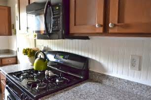 wainscoting kitchen backsplash liz beadboard backsplash