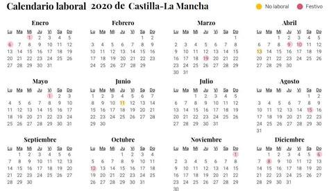 calendario laboral de castilla la mancha san jose