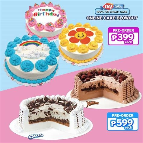 cake blowout  dairy queen loopme philippines