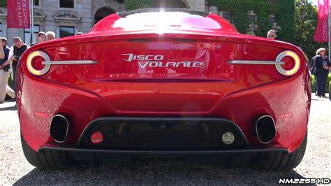 New Alfa Romeo Disco Volante New Alfa Romeo Disco Volante Amazing V8 Sound