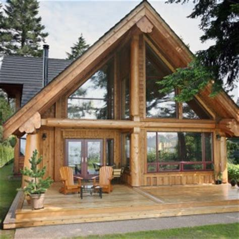 gibsons post  beam west coast log timber
