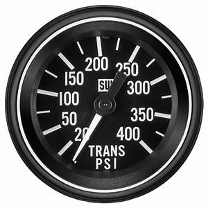 Heavy Duty Trans Oil Pressure Gauge  P  N 284s