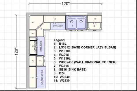 11 x 11 kitchen floor plans 10x10 sle diagram 8962